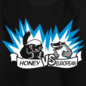 Badger vs Badger Shirts - Kids' T-Shirt