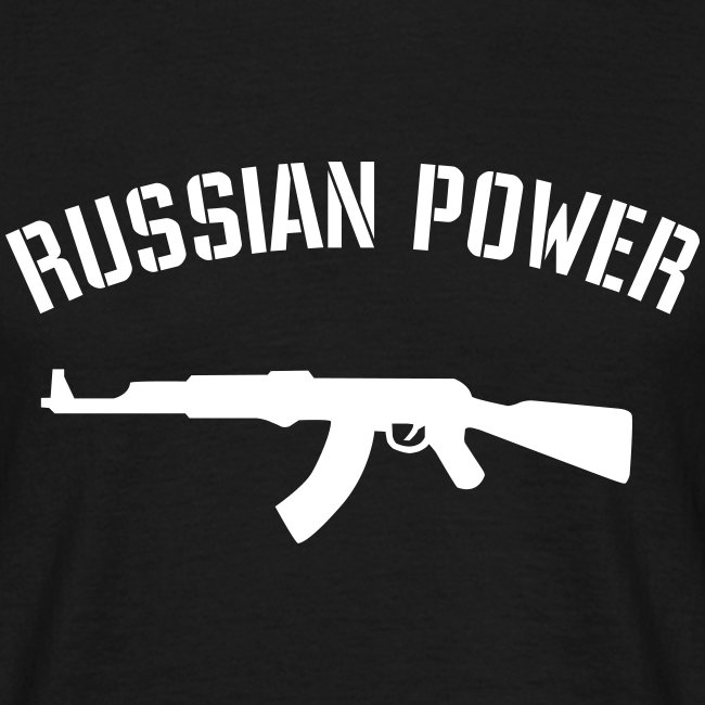 T-Shirt Russian Power