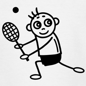 Tennis Players - Tennis Shirts - Kids' T-Shirt