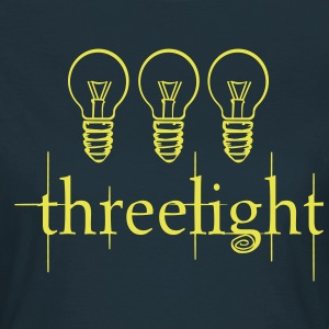 Three Light Bulb Twilight  T-Shirts - Women's T-Shirt