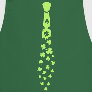 Tie with shamrocks  Aprons - Cooking Apron