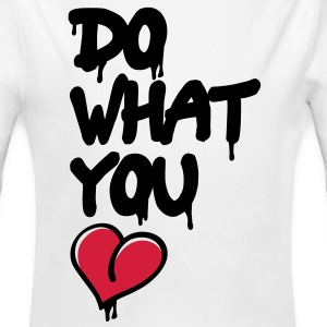 do what you love Hoodies - Longlseeve Baby Bodysuit