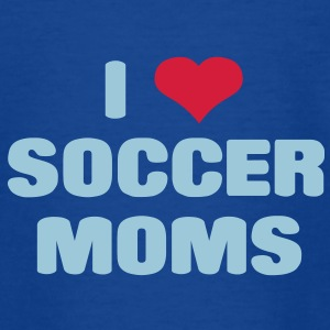 i love soccer moms Shirts - Teenage T-shirt
