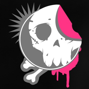 Skull sticker in the graffiti style Shirts - Baby T-Shirt