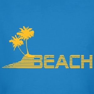 beach T-shirts - Mannen Bio-T-shirt
