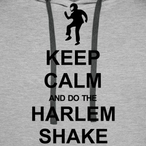 Keep Calm and Harlem Shake - Men's Premium Hoodie