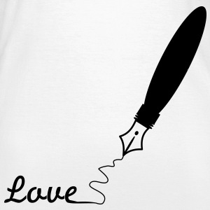 Love fountain pen filler pen write 1 c. T-Shirts - Women's T-Shirt