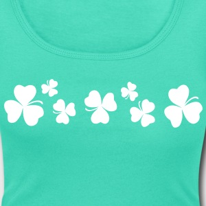 Lucky charm st.Patrick's day Women's Scoop Neck T- - Women's Scoop Neck T-Shirt