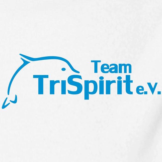 Leni Strampler langarm blaues Logo