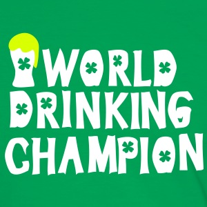 World drinking champion green beer st.Patty's day  - Men's Ringer Shirt