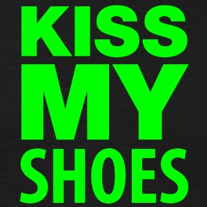 Männershirt Kiss my shoes! - Männer T-Shirt