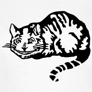 Cheshire cat T-Shirts - Frauen T-Shirt