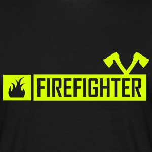firefighter,fireman,firefighter,celebration,fire - Men's T-Shirt