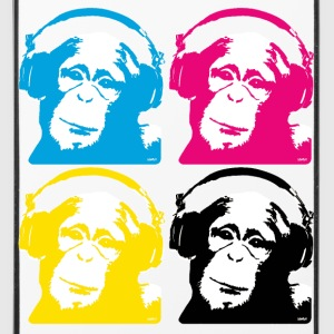 4 dj monkeys Altro - Custodia rigida per iPhone 4/4s