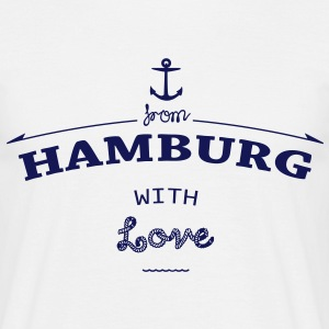 From Hamburg with love T-Shirts - Männer T-Shirt