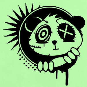 A sticker with panda bear head Shirts - Baby T-Shirt