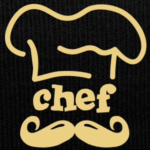 moustache chef Caps & Hats - Winter Hat