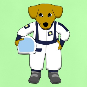space dog Skjorter - Baby-T-skjorte