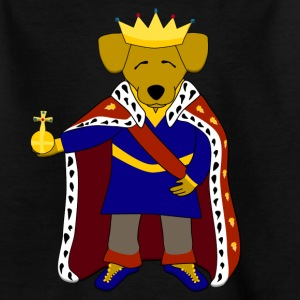 king dog Camisetas - Camiseta niño