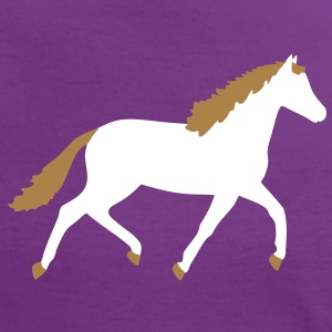 horse T-shirts - Vrouwen contrastshirt