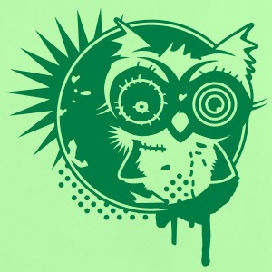Graffiti Sticker with an owl - monochrome Shirts - Baby T-Shirt
