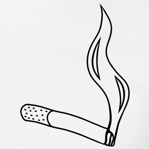 cigarette Tee shirts - T-shirt Homme