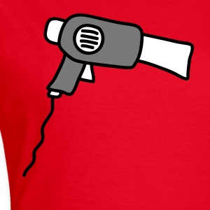 hair_dryer T-Shirts - Frauen T-Shirt