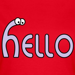 hello T-Shirts - Frauen T-Shirt