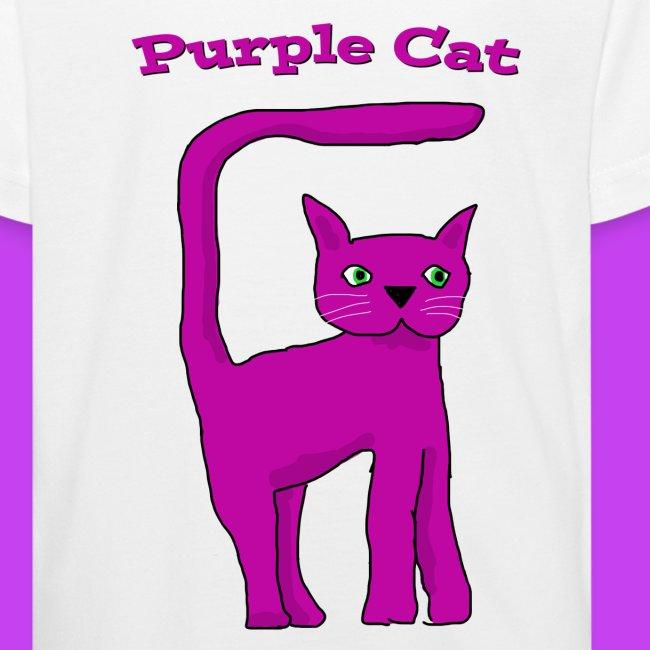 Purple Cat T shirt