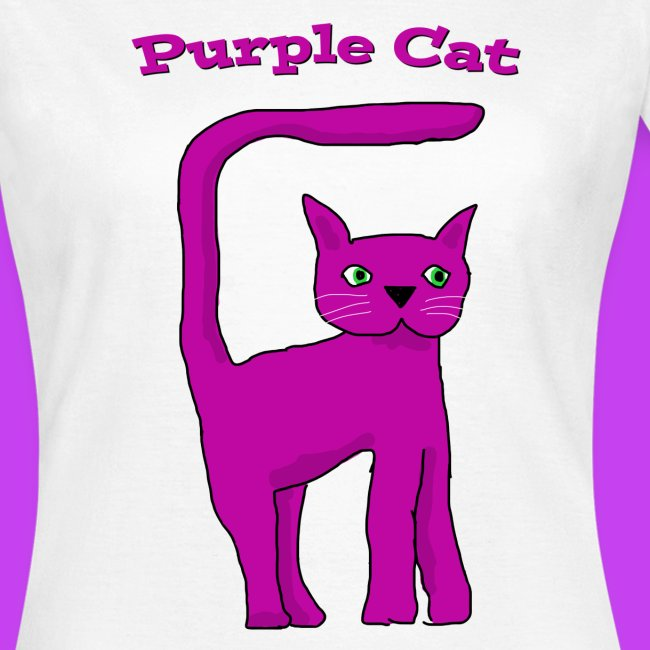 Purple Cat Ladies T Shirt