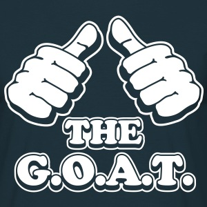 I´m the G.O.A.T. - Männer T-Shirt