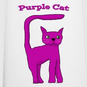 Purple Cat 1  Aprons - Cooking Apron