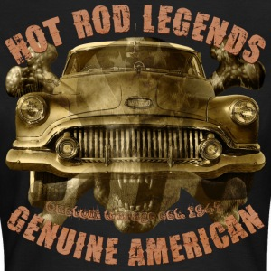 1951 Hot Rod Vintage Buick 8 skull T-Shirts - Women's T-Shirt