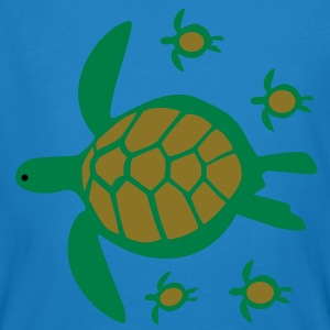 Sea Turtle with Babies T-Shirts - Men's Organic T-shirt