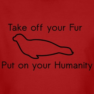 Take off your Fur T-shirts - Ekologisk T-shirt herr