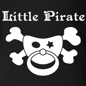Little Pirate - Baby Pirat T-Shirts - Baby Bio-Kurzarm-Body