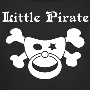 Little Pirate - Baby Pirat Hoodies - Longlseeve Baby Bodysuit