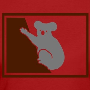 Koala Bear in Tree T-shirts - Organic damer