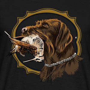 drahthaar_and_woodcock T-Shirts - Men's T-Shirt