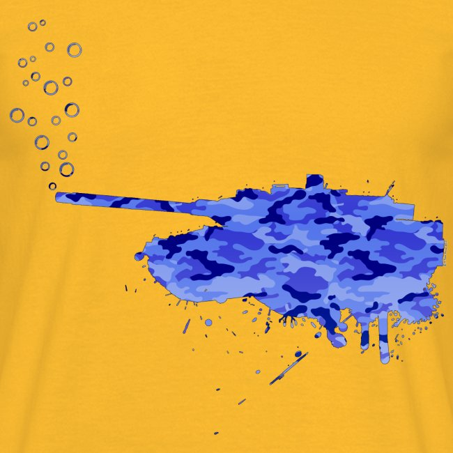 soap bubbles splash tank - Aqua Camo