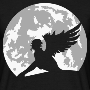 angel on moon T-Shirts - Men's T-Shirt