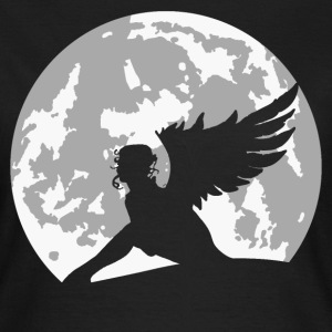 angel on moon T-Shirts - Women's T-Shirt
