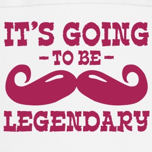 it's going to be legendary / moustache Fartuchy - Fartuch kuchenny