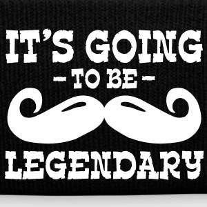 it's going to be legendary / moustache Caps & Hats - Winter Hat
