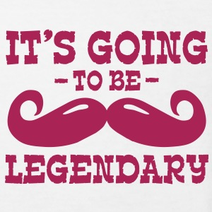 it's going to be legendary / moustache Shirts - Kids' Organic T-shirt