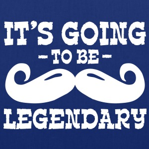 it's going to be legendary / moustache Borse - Borsa di stoffa