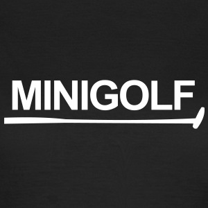 Mini-golf,golf,golf,drapeau,clubs de golf de golf - T-shirt Femme