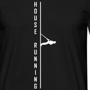 House,running,high-rise,extreme,sport,race,strap - Men's T-Shirt