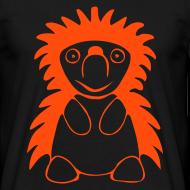 Motiv ~ Igel orange/schwarz