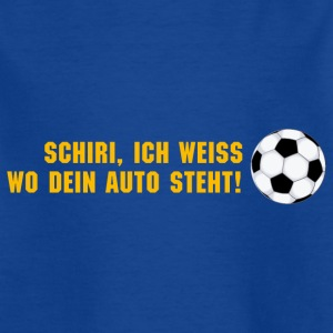 Kindershirt Schiri pass auf! - Kinder T-Shirt